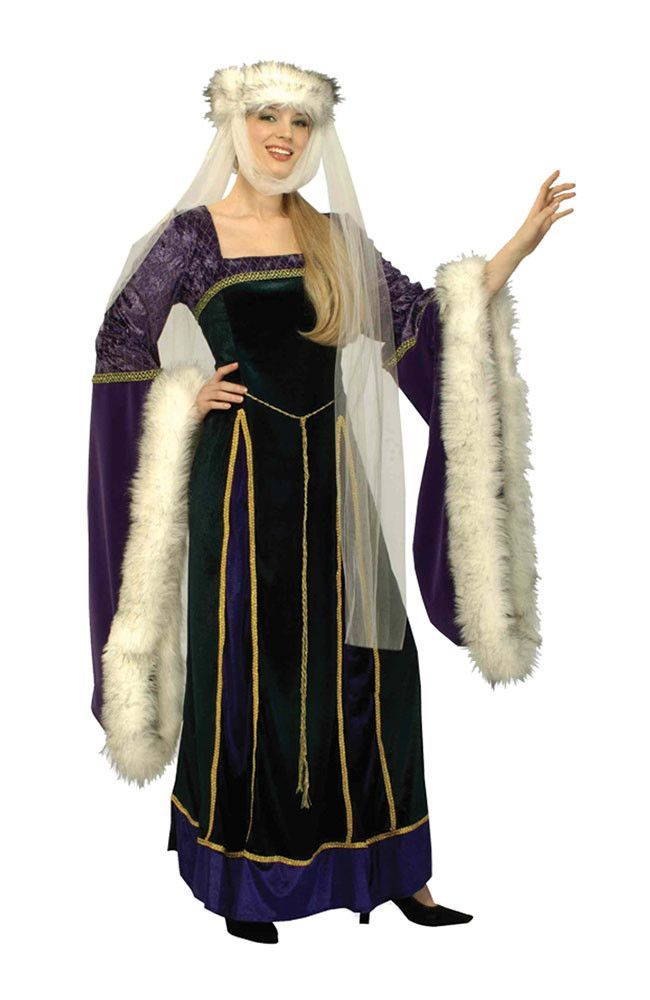 Creepy Scary Costume Medieval Lady Adult Small 2-6 Products - scary halloween ideas