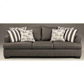 Levon Charcoal Sofa Afw Charcoal Sofa Sofa Couch Fabric
