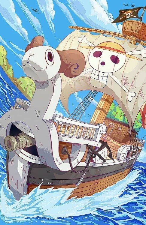 Going Merry; One Piece   One piece personnage