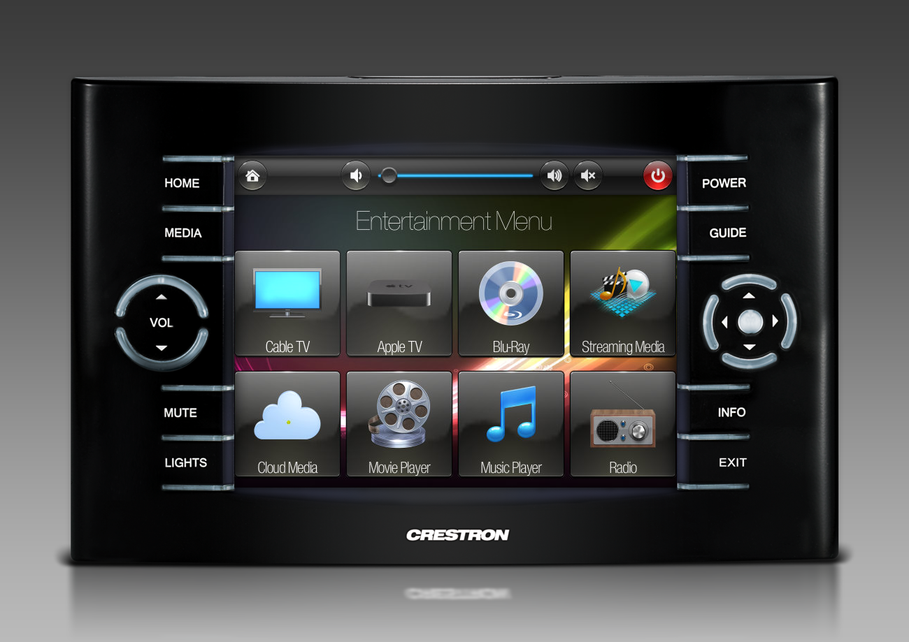 Home Theater Remote Control Touchscreen Graphics By NTDesigns Smarthomes Home  Automation Home CinemaHome Theater Remote Control
