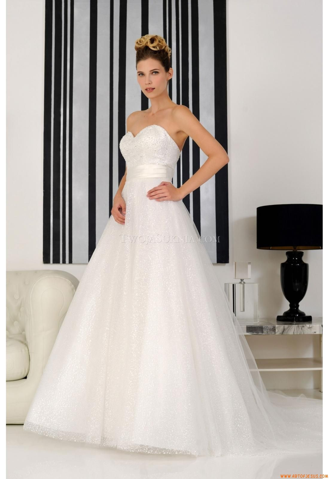 Elegant Sweetheart Ball Gown Wedding Dress China Rosa Couture Denia 2014 Dresses OnlineDresses 2014American