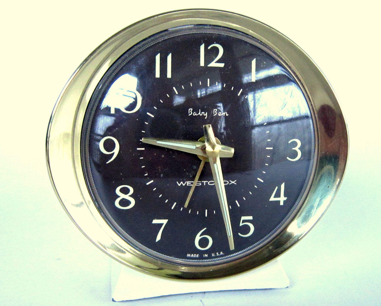 Vintage Baby Ben Alarm Clock Unique Alarm Clock