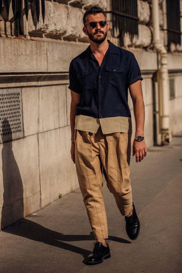 Street style à la Fashion Week homme printemps-été 2019 à ...