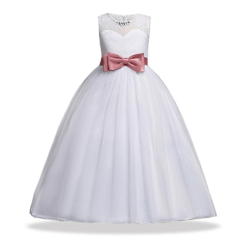 9cd777cc7 Cheap 2018 verano niña ropa niñas de la boda Vestido elegante vestidos para  niñas niños ropa