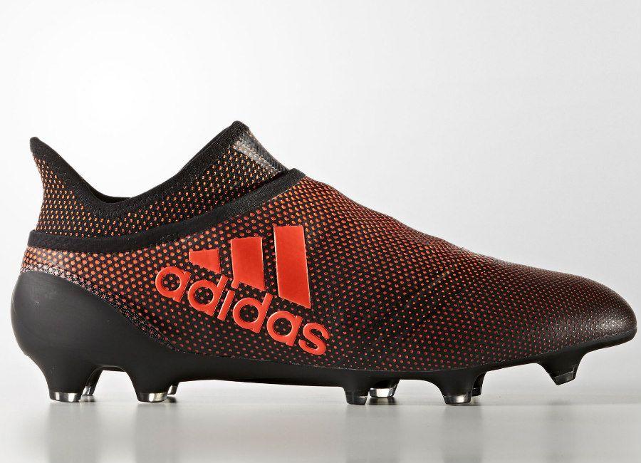Adidas X 17 Purespeed Fg Pyro Storm Core Black Solar Red Solar Orange Botas De Futbol Adidas Zapatillas