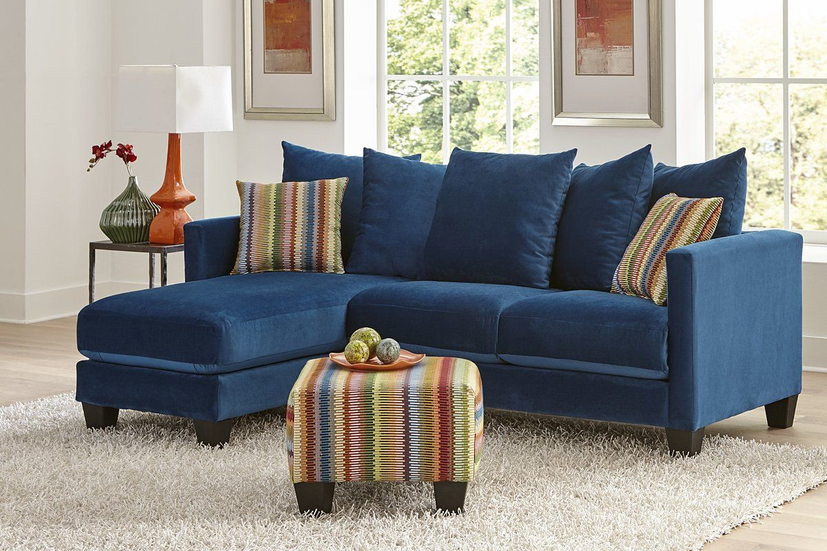 """Parnell 84"""" Left Hand Facing Sectional With Ottoman (With"""