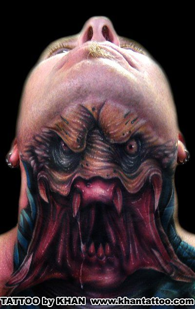 Predator tattoo. That is just too bad ass!