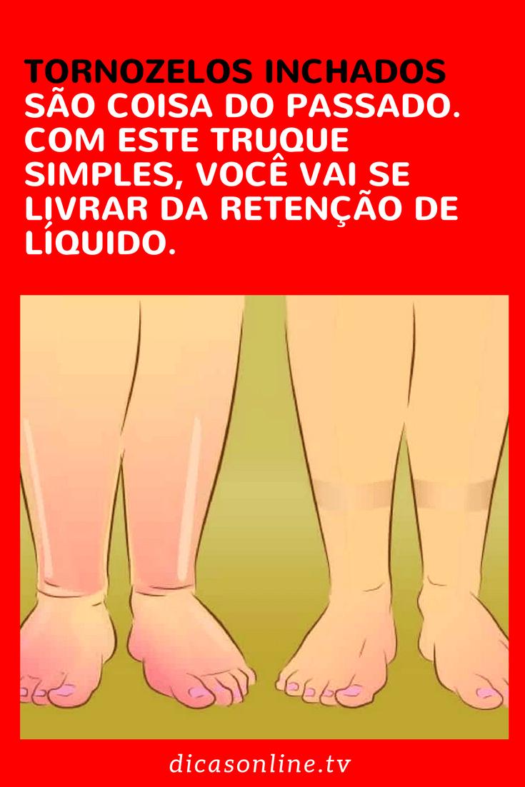 Renal tornozelo inchado e doença
