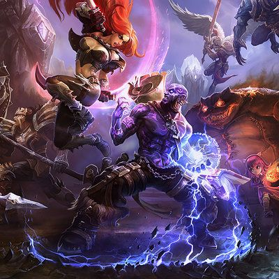 League of Legends key art season 2--season 3, Suke ∷