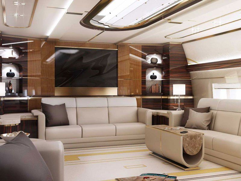Home in the sky...private jumbo jets by greenpoint technologies (5)