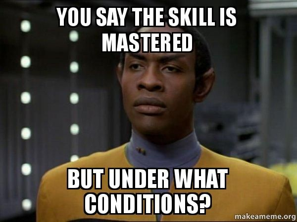 e872024f62f61d3678e7d039110a366b skeptical vulcan meme aba pinterest meme, aba and teacher