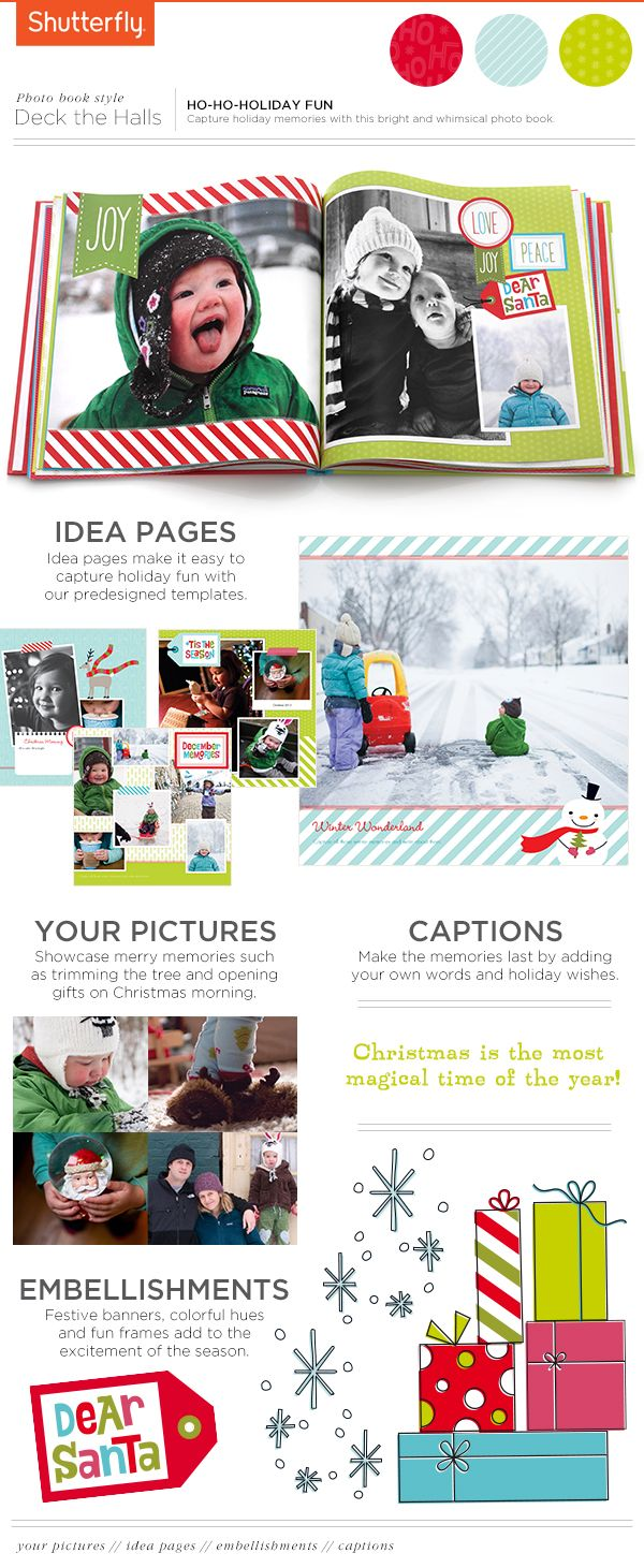 Capture And Share Holiday Memories In This Whimsical Book Yes