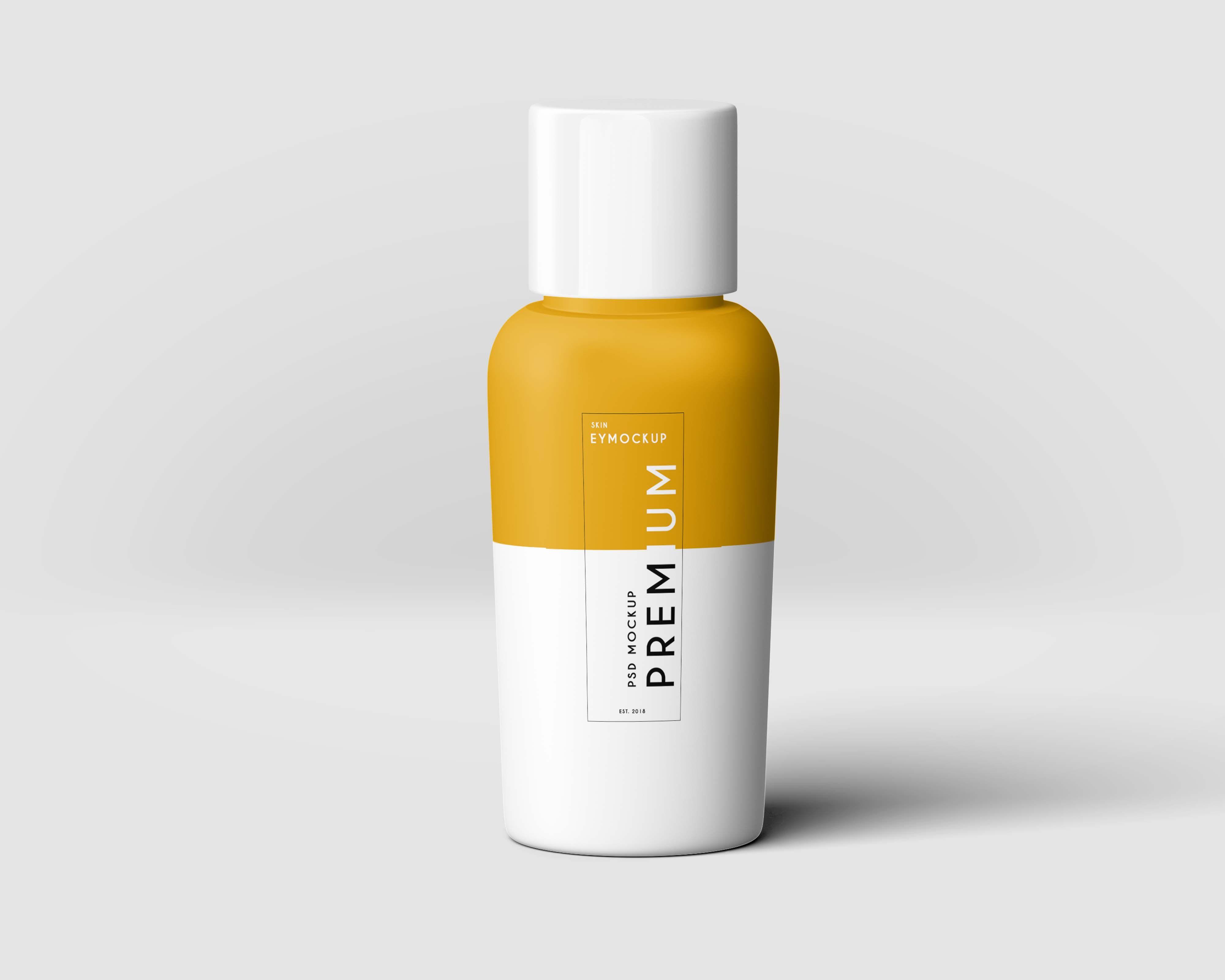 Hair Oil Bottle Label Mockup Oil bottle, Mockup psd