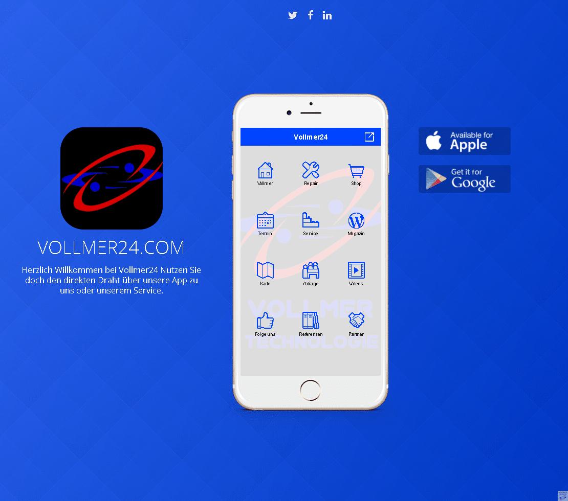 NEU Vollmer24 App Download NEU App, Phone