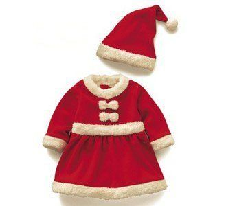 a333b2481 Stylish Funny Cute Essential Christmas Mummy's Little Pudding Little Girl  Christmas Party Gifts Baby Suit Baby's first Christmas Santa suit with Hat  Baby ...