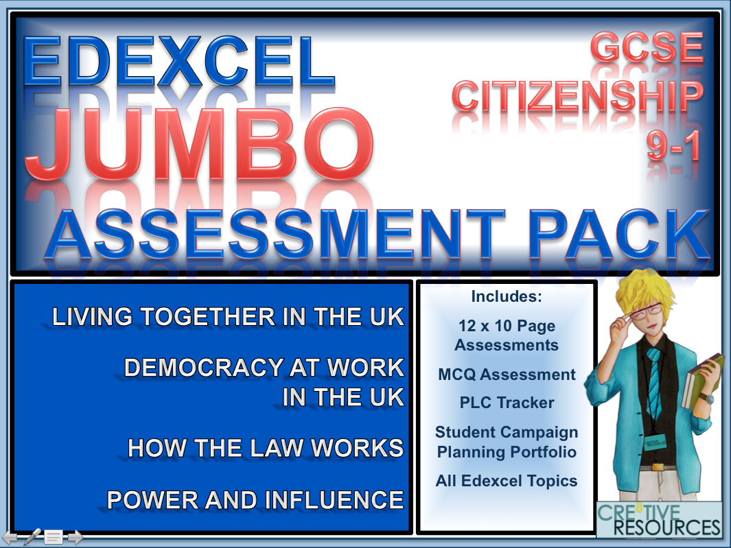 Citizenship GCSE 9-1 EDEXCEL Complete Assessment Examination and