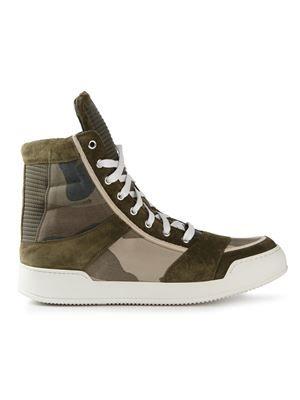 e0dfb9d043aa BALMAIN hi-top sneakers £660 sale £462 Balmain - Men s Designer Clothing -  Farfetch