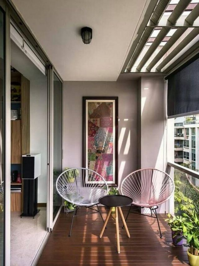 40+ Interesting Balcony Apartment Decorating Ideas For The ...