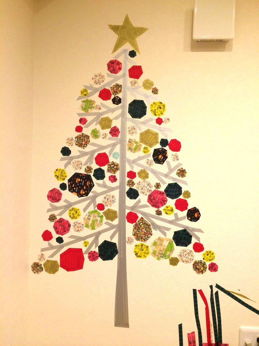 ステッカー ウォール クリスマス ツリー