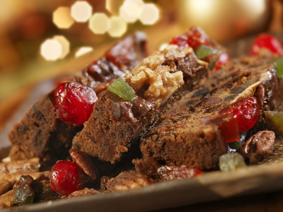 spiced dark fruitcake with brandy recipe best fruit cake recipe cake recipes fruit recipes