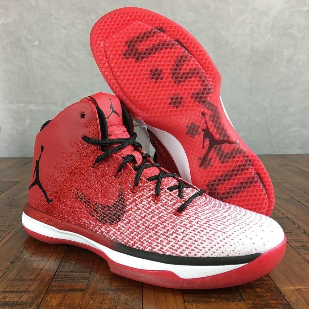 best sneakers 5f364 e83b9 (eBay Sponsored) Air Jordan 31 XXXI Chicago Bulls Red Black Sneakers  845037-600