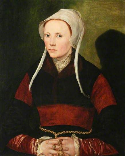 Portrait of an Unknown Lady by Dutch School Collection: National Trust