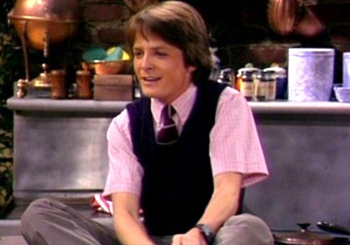One of my first crushes was Michael J. Fox (the others were Boy George and Michael Jackson, don't judge), even before Back to the Future. I loved Alex P Keaton, which is funny considering I grew up to be such a dirty liberal. :)