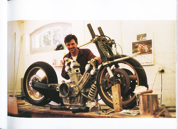 john britten You could think of him as new zealand's erik buell, but they are different types of geniuses different, but similar john britten died too young at the age of 45 after a battle with cancer, but not before designing, and building by hand, one of the most incredible motorcycles ever, the britten.