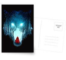 Big Bad Wolf (dark version) Greeting Card