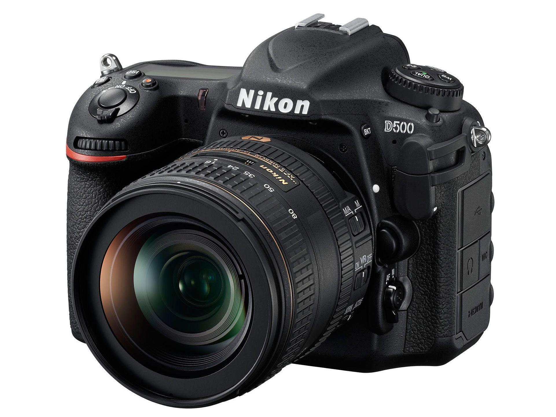 Nikon D500 Product Photos