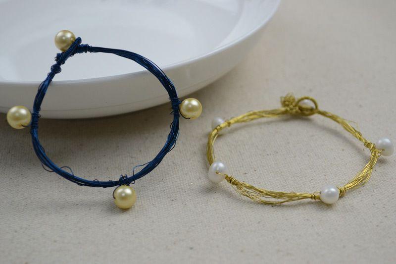 Charm Bracelets  Wire Bracelets Diy