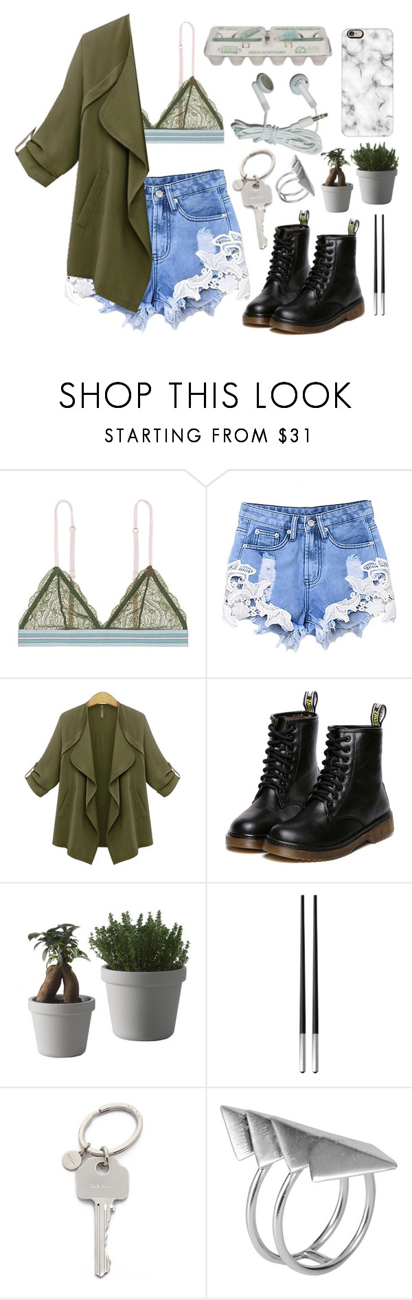 """""""Green Day"""" by mode-222 ❤ liked on Polyvore featuring LoveStories, Market, Muuto, Christofle, Paul Smith, First People First and Casetify"""