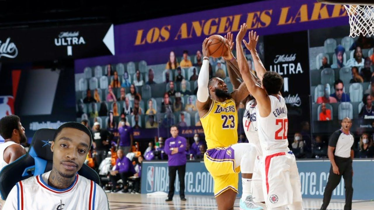 Flightreacts Los Angeles Lakers Vs Los Angeles Clippers Full Game High In 2020 Los Angeles Lakers Los Angeles Clippers Lakers Vs