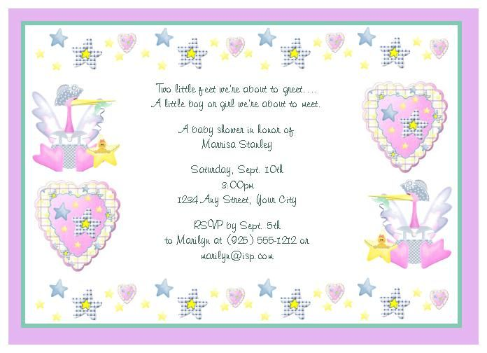 baby shower thank you wording samples notes ideas baby shower, Baby shower invitation