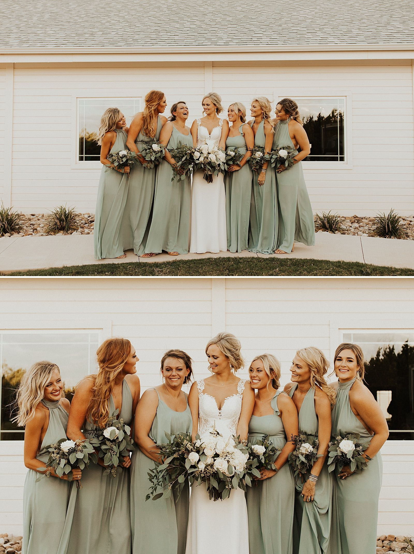 Sabrina Cedars Wedding Chelsi Brennan Meg Amorette Photography Sage Green Bridesmaid Dress Sage Bridesmaid Dresses Wedding Bridesmaid Dresses [ 2141 x 1600 Pixel ]