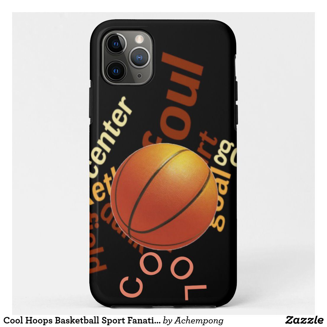 Cool hoops basketball sport fanatics casemate iphone case