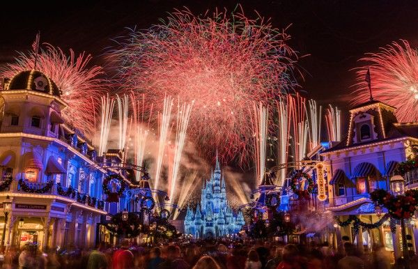11 Photos Of 'Holiday Wishes' Fireworks at Magic Kingdom