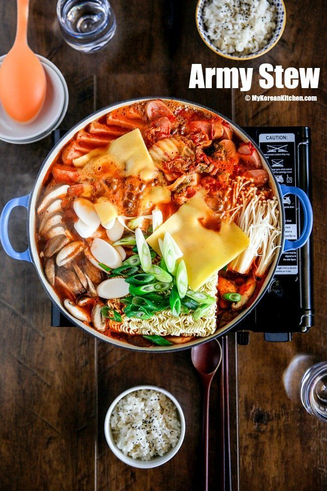 The 10 Most Popular Recipes Of 2016 Korean Side Dishes Army Stew Recipes