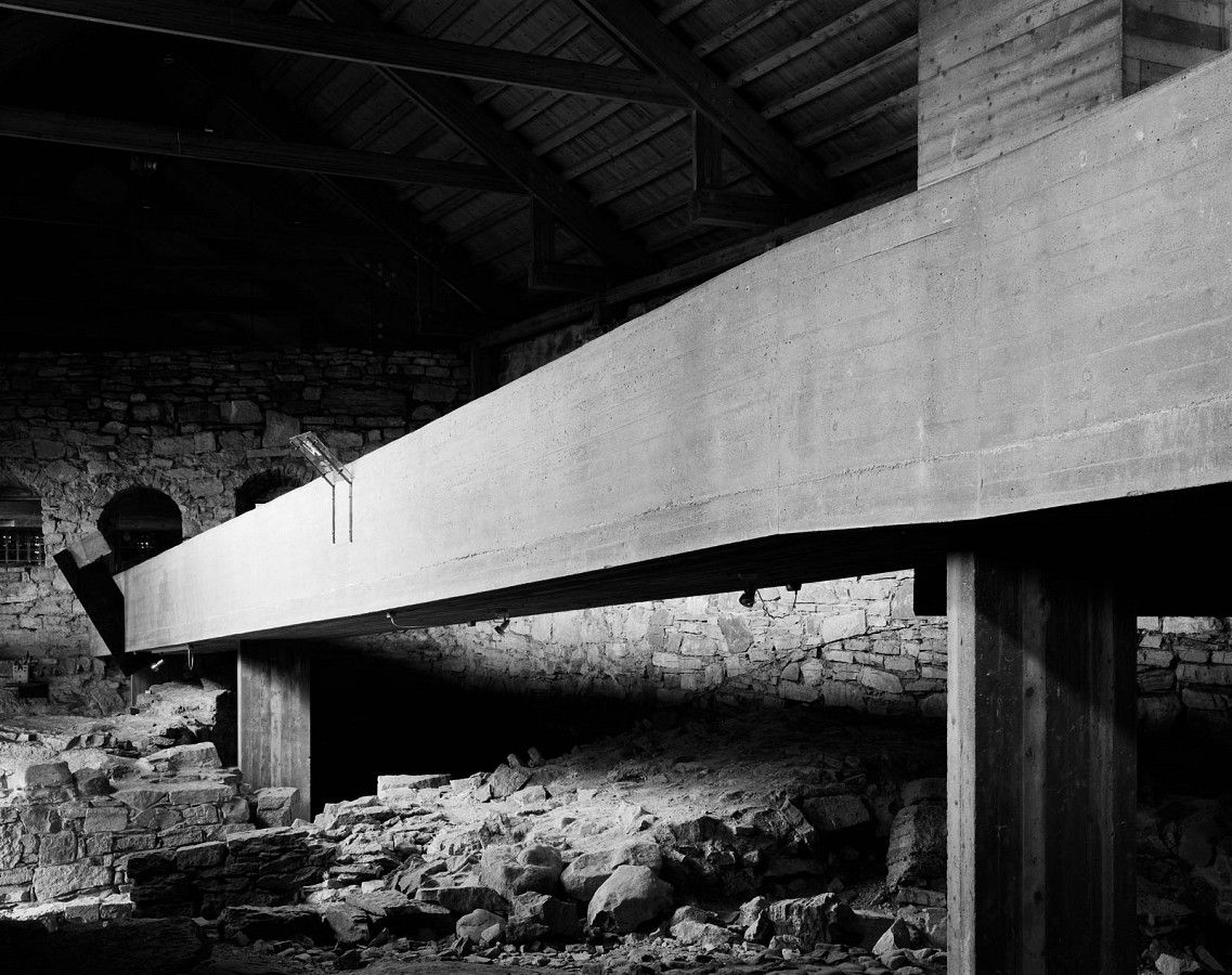 The Hedmark Museum, also known as the Storhamar Barn, is one of Sverre Fehn's best known works, the testing ground for his speculations on human nature and material history.  In 2009, Arkitektur N invited Helene Binet to take new photographs of the museum.