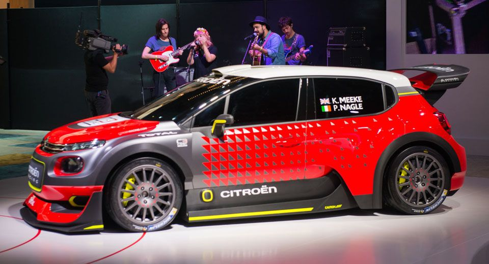 Citroën C3 WRC Concept Previews A Return To Rally Dominance