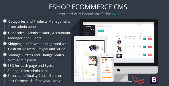 Php Website Templates Eshop Ecommerce Cms Admin Login Url   Web Design Lovers
