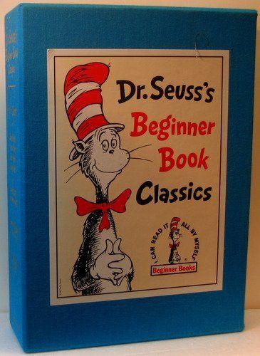 Dr Seusss Beginner Book Classics I Can Read It All By Myself Beginner Books Dr Seuss Books Seuss