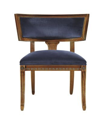 Regan Klismos Chair From The Alexa Hampton® Collection By Hickory Chair  Furniture Co.