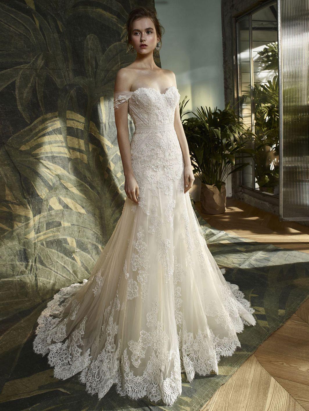 291e86985fd7 Kara - Enzoani Blue Collection | Enzoani Bridal in 2019 | Wedding ...