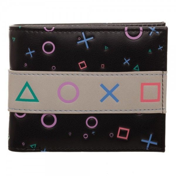 91f775bc87268 Playstation Bifold Wallet Live In Your World Play In Ours Men s Wallet  OFFICIAL  Bioworld  Bifold