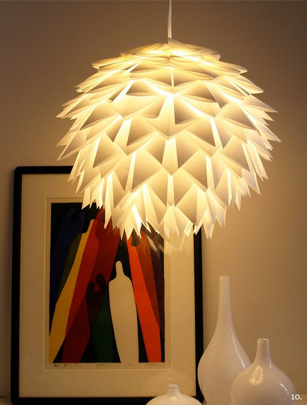 Exceptionnel The Best Of The Best Paper Light Fixtures