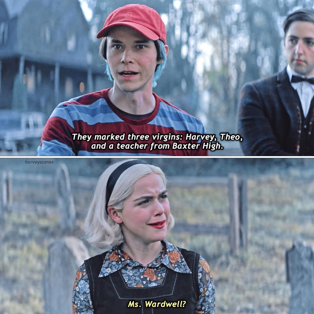 Chilling Adventures Of Sabrina On Instagram 3 08 How Was Robin Going To Out Everyone Like That Thoughts On Robin Sabrina Spellman Sabrina Sabrina Witch