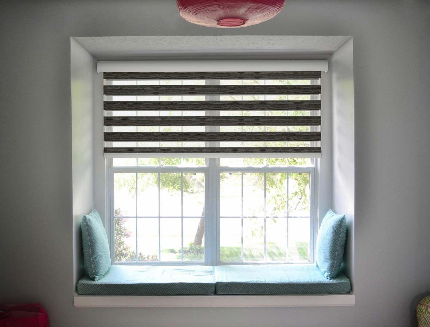 Pin By Rideaux Cheniour On Stores Zebra Jour Et Nuit A Enrouleur Home Blinds Curtains