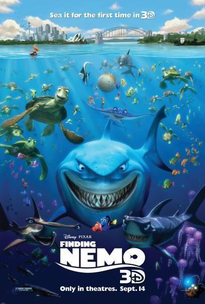 Pin on Cartoons Life  Walt Disney Pictures Presents A Pixar Animation Studios Film Finding Nemo