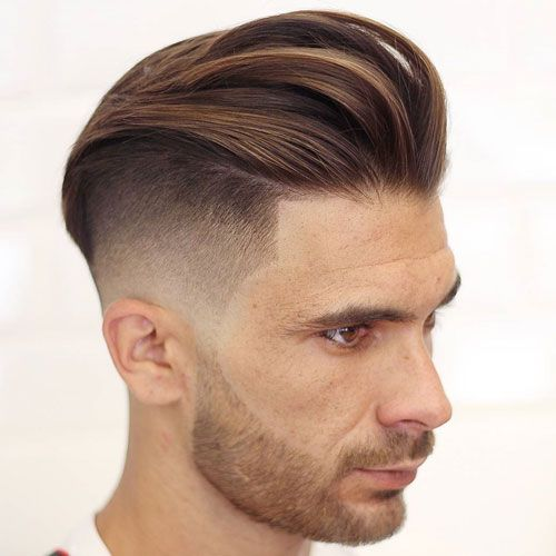 Corte de cabello undercut hombre